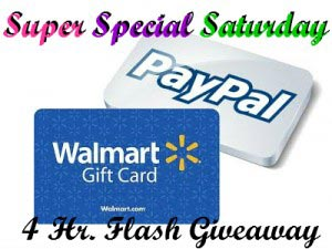 Super Special Saturday giveaway logo