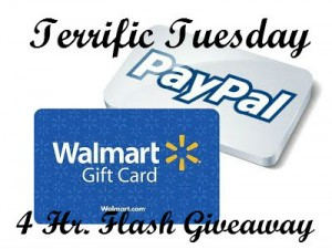 terrific tuesday flash giveaway logo