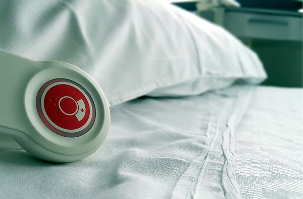 hospital bed call button