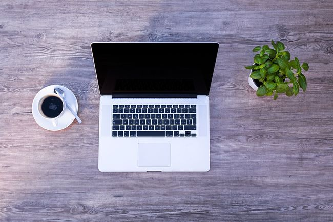 laptop-desk-coffee-plant