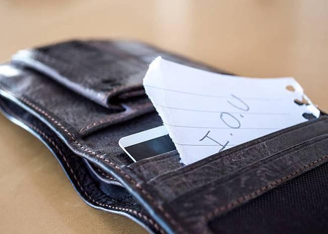 wallet-iou-debt